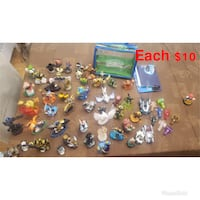 Used & in good condition Nintendo Wii U Console, Games, Controller, Portals & Figurines (Original boxes available) null
