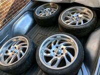 18inch 5 lug wheels and tires Silver Spring, 20906