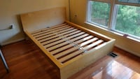 Full size bed frame & head Centreville, 20120