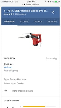 Bauer Rotary hammer Houston, 77086