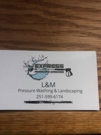 Landscaping and pressure washing Mobile
