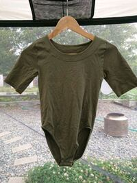 women's brown scoop-neck shirt Nanaimo, V9R 1S4