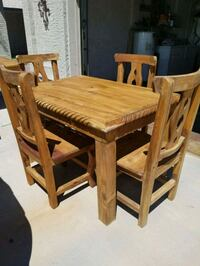brown wooden dining table set Phoenix, 85027