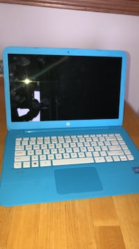 black and blue HP laptop Morris, 60450