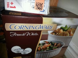 Corning ware brand new set