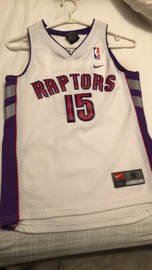 93f1e51fe17 Used Authentic original basketball Toronto raptors jersey - Vince carter  for sale in Toronto - letgo