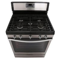 """Whirlpool 30"""" Convection Gas Stove / Oven - Stainless Steel 536 km"""