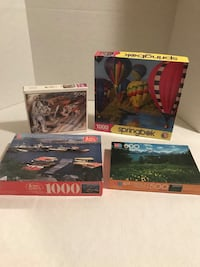 Set of 4 Assorted Puzzles Woodbridge, 22193