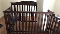 Baby Crib, Changing Table, Delta Bassinet
