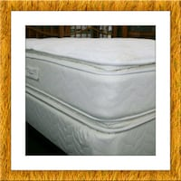 Twin mattress double pillowtop box & free shipping McLean
