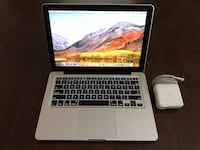 Apple MacBook Pro A1278 13 2.9Ghz i7 8GB RAM 512GB SSD MD102LL/A 2012 MS OFFICE Silver Spring, 20902