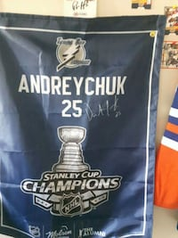 Stanley cup banner singed: give me a good price Edmonton, T5T 2C9