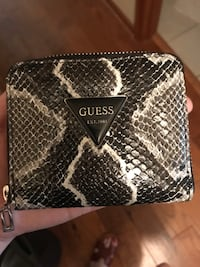 Guess snake skin small wallet