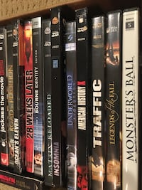 23 Classic Movies / DVDs UF