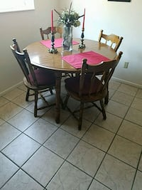 table and chairs Layton