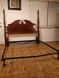 Like new solid wood queen/full size headboard in g 33 km