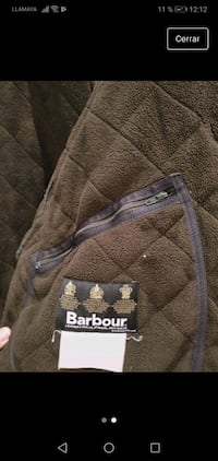 Chaquetón Barbour talla XL