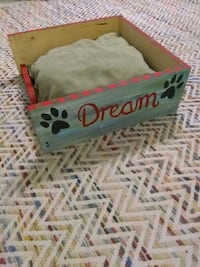 Small wooden dog bed Jefferson, 70121
