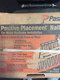 Positive placement Nails for hardware installation  Salida, 95368