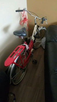 red and black full-suspension bike Winnipeg, R3J 1X8