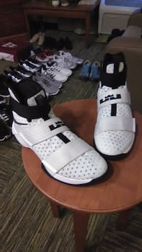 pair of white-and-black Adidas sneakers Columbus, 43240