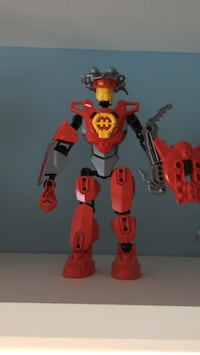 red and black robot action figure Fair Lawn, 07410