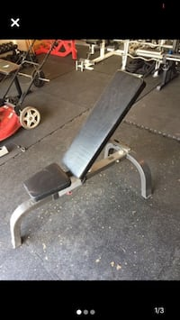 Hoist commercial adjustable weight bench