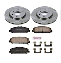 Power Stop KOE2909 Front 1-Click OE Replacement Brake Kit for 06-07 In Arlington Heights