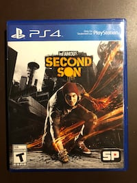 Infamous: Second Son Ps4 Game  Calgary, T3R 0M7