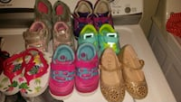 toddler's four pairs of shoes Houston, 77038
