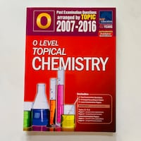 O Level Topical Chemistry 2007 - 2016 Hougang, 530971