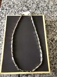 NEW Necklace Stainless steel/ GIFT Batavia, 60510