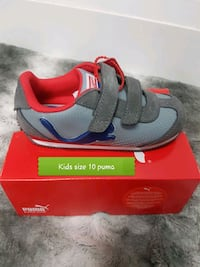 gray Nike running shoes with box Brampton, L6T 4R1