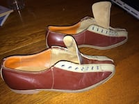Brunswick Vintage Men's Bowling Shoes Size 10 or 11 3153 km