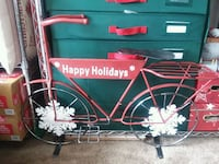 Metal decorative Bicycle Christmas  Hanover, 17331