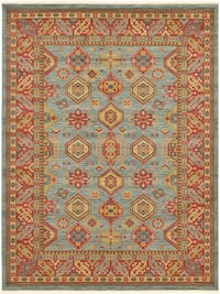 New Turkish blue rug large size 9x13 nice design carpet  Burke, 22015