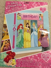 Happy Birthday Princesses Poster Ashburn, 20147