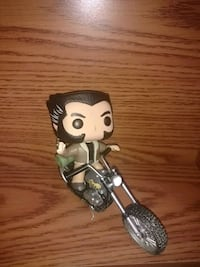 Wolverine funko with motorcycle Catonsville, 21228