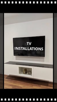 Professional tv wall mounting services  Oshawa