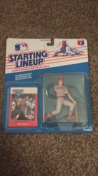 Pete Rose 1988 starting lineup toy figures, new and sealed  Gilbert, 85298