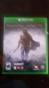 Shadow of Mordor xbox one game Union City, 94587