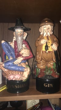 Really cool vintage decanters