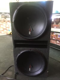 black and gray JL Audio subwoofer Macon, 31204