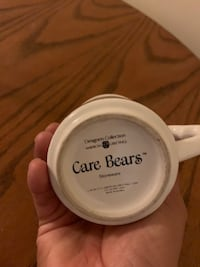 VINTAGE 1983 CARE BEARS FILL YOUR DAY WITH SOMETHING GOOD! COFFEE CUP MUG Mississauga