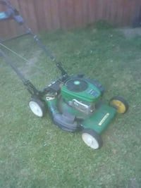 green and black push mower Portsmouth, 23704