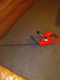 Black and Decker hedge trimmer 22inch 47 km