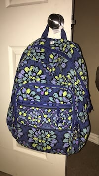 blue, yellow, and green floral backpack Frisco, 75035