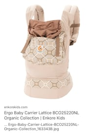 Ergo baby infant carrier Bowie, 20720