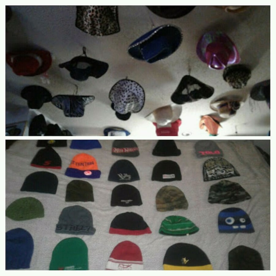 Hats over 250 different
