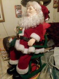 New  Santa hooks and snores and his tummy move  Hagerstown, 21740